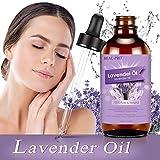 Lavendelöl 118ml, MANSI 100% Reines und Natürliches Unverdünnt Bio ätherische öle, Massageöl und Duftöl für Aromatherapie, Massage, Schlafhilfe