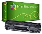 Printing Pleasure Toner kompatibel für HP Laserjet Pro P1010 P1102 P1102W M1130 M1132 M1136 M1210 M1212 M1213 M1217 Canon LBP-6000 LBP-6000B LBP-6020 LBP-6020B MF-3010 | CE285A 85A CRG 725 3484B002