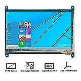 Makibes 7 Zoll kapazitiver Touch Screen LCD 1024 × 600 HDMI Schnittstelle für Raspberry Pi/BB SCHWARZ/PC/verschiedene Systeme