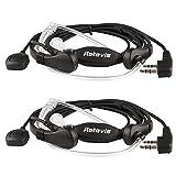 Retevis Funkgeräte Headset mit Kehlkopfmikrofon PTT für Kenwood RETEVIS QUANSHENG WOUXUN TYT BAOFENG UV5R 888S