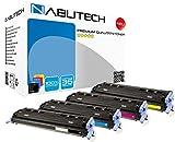 4 Nabutech Toner | Geprüft nach ISO-Norm 19798 | kompatible, als Ersatz für HP 124A / Q6000A Q6001A Q6002A Q6003A / Canon LBP5000 707BK 707C 707M 707Y