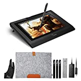 Parblo Coast10 10.1' Digital Zeichnung Grafik Monitor Grafiktabletts Anzeige Graphic Drawing Tablet Monitor Display mit Batterie frei Stift Pen und Wolle Liner Bag