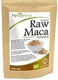 MySuperFoods 100% Reines Bio Maca Pulver | Das Superfood Wundermittel aus Peru | Köstliches Malz-Aroma | Bio zertifiziert (500g)