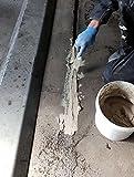 Epoxidharz Reparaturmörtel Pflasterfugenmörtel Betonsanierung | BK-150EP 2K Epoxidharzmörtel Fugenmörtel Mörtel Pumpbelastung bis 3t/qcm Beton reparieren Schnelle Aushärtung, mechanisch Hochbelastbar (2,5KG)
