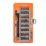Schraubenzieher Set 60-in-1 Präzisions-Schraubendreher Multifunktionalen Mini - Größe Legierter Stahl Orange für Von Elektronischen Produkten Handy, Tablet, PC, MacBook, Uhr, Kamera Kühlschränke etc