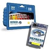 Refresh Cartridges Kompatibel Druckerpatrone Ersatz für Canon BCI-643Y Gelb