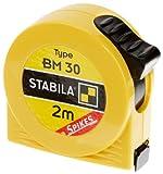 Stabila Messgeräte 16449 Taschenbandmaß BM 30 SP / 2 m