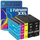 PlatinumSerie 5 Patronen XXL kompatibel zu Canon PGI-2500 Maxify MB 5050 MB 5100 Series MB 5150 MB 5155