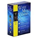 Wart Mole Vanish Warzen & Leberflecken entfernen Set | Syringom & Entfernung von Warzen & Muttermalen + Auch Genitalwarzen
