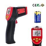 AIDBUCKS A530 Digital Laser-Infrarot-Thermometer Taupunkt IR Temperaturmessgerät In Küche Kühlschrank Lebensmittel Grill Innen-Außen -32° C Bis 530° C