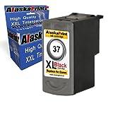 1x Druckerpatrone Ersatz für Canon PG-37 XL Schwarz Black BK für Canon PIXMA MP140 MP450 MP190 MP210 MP220 MP470 MP460 IP2500 IP1800 IP1900 MX300 IP2600 IP1600 IP2200 IP1700 IP2580 MP160 MP450 X MX310 MP180 MP150 MP170 IP1200 IP1300 Fax JX200 JX210 P JX500 JX510 P JX210 P