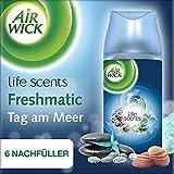 Air Wick Freshmatic Max Nachfüller für automatisches Duftspray, Tag am Meer, 3x Duo-Pack, 6 Stück