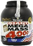 Weider, Mega Mass 4000, Vanille, 1er Pack (1 x 3 kg)