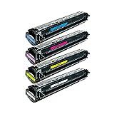 4 Toner für Canon EP82 LBP 2160 C 624 Colorpass CP 660 Imageclass C 2100 CS PD Series Imagerunner IR C 62 - 1512A003-1515A003 - Schwarz 9000 Seiten, Color je 6000 Seiten