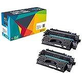 Doitwiser ® kompatible Schwarze Toners 2 Stücke für Canon IR-1133 IR-1133A IR-1133iF (C-EXV40) Kapazität 6.000 Seiten