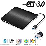USB3.0 DVD-RW DVD/CD Brenner Slim extern Laufwerk Portable DVD CD Brenner, QinYun Superdrive für...