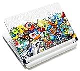 MySleeveDesign Notebook Skin Aufkleber Folie Sticker für Geräte der Größe 10,2 Zoll / 11,6 - 12,1 Zoll / 13,3 Zoll / 14 Zoll / 15,4 - 15,6 Zoll mit VERSCH. DESIGNS - Internet