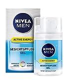 Nivea Men Active Energy Gesichtspflege Gel, 1er Pack (1 x 50 ml)