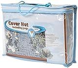 VT 148041 Abdecknetz für den Teich, 6 x 3 m, 6 Erdspieße, Cover Net, Schwarz