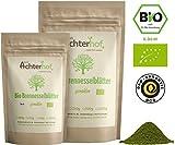Bio Brennesselpulver (250g) | Rohkost | Brennesselblätter gemahlen | grünes Bio Smoothie Pulver | Brennesselblattpulver