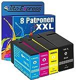 PlatinumSerie® 8x Tinten-Patrone XXL kompatibel für Canon PGI-1500 XL Maxify MB 2000 Series MB 2050 MB 2300 Series MB 2350 MB 2700 Series MB 2750 MB 2755