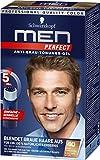 Schwarzkopf Men Perfect Anti-Grau-Tönungs-Gel, 40 Natur Dunkelblond (graue Haare ausblenden mit Schwarzkopf Tönung zum Auswaschen) Menge, 3er Pack