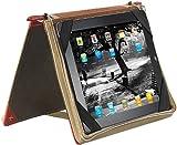 Xcase Tablettaschen: Elegante Schutztasche im Buch-Design für iPad & TOUCHLET (Hülle Tablet)