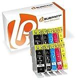 Bubprint 10 Druckerpatronen kompatibel für Canon PGI-5 CLI-8 für Pixma IP3300 IP3500 IP4200 IP4300 IP4500 IP5200 IX4000 MP510 MP600 MP610 MP970 MX700