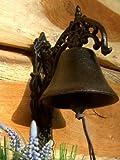 Antikas - Glocke, hübsche Türglocke historisches Modell Kleene Gartenglocke m hellem Klang