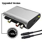 Avantree DAC DA Wandler Digital SPDIF Toslink Analog Audio Konverter Adapter mit Optischem Kabel,...
