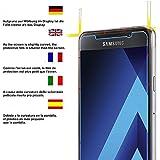 Samsung A5 2017 Schutzfolie, Acelive 2 Stück Gehärtetem Glas Panzerglas Displayschutzfolie Folie...