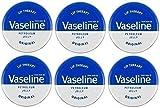 Vaseline - Lippen Therapie Petroleum Gelee 20g Original x 6 Dosen