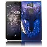 Sony Xperia XA2 Wolf Handy-Hülle Silikon - staubdicht, stoßfest & leicht - Smartphone-Case thematys Sony Xperia XA2