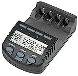 BC 700 Akku - Ladegerät mit LCD - Display, Microprozessor, Schnellladegerät für z. B. Eneloop...