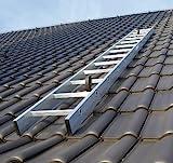 Kaminkehrerleiter Dachleiter Aluminium 18 Sprossen 5,04m