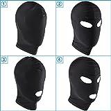 Knechtschaft Fetisch Maske Kopfmaske Strecken Maske BDSM Sexspielzeug (3-Mund aussetzen)