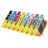 8 Tintenpatronen für Canon Pixma Pro 100 CLI-42 6384 6385 6386 6387 6388 6389 6390 6391 B001 je 12ml