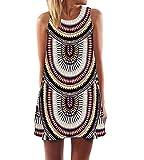 RAYWIND Neueste Kleid f¡§?r Frauen beil?ufige Sommer Kleider mit Blumenmuster