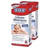 SOS Läuse-Shampoo (2er Pack) - befreit zuverlässig von Kopfläusen und Nissen
