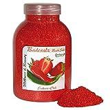 Badesalz Erdbeere, Chili, Camillen 60, Fussbad wärmender Badezusatz für kalte Füsse, mit Fruchtextrakt, 1350 g