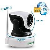 Überwachungskamera Sicherheitskamera IP Kamera Home Baby Monitor mit WiFi HD Wireless WLAN Kamera...