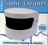 Good Ideas Sonic Denture Cleaner (883) Cleans dentures professionally.