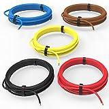 AUPROTEC Fahrzeugleitung 1,50 mm² Set 5 Farben à 5m FLRY-B als Ring