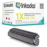 Inkadoo Toner kompatibel für Canon I-Sensys LBP-2900, I-Sensys LBP-3000, Lasershot LBP-2900, Lasershot LBP-3000, LBP-2900, LBP-3000 ersetzt Canon 703 - Premium Drucker-Kartusche – Schwarz – 2.000 Seiten