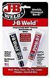 JB Weld Epoxid 8265, Kaltverschweißformel, mit Stahl verstärkt, für Haushaltsreparaturen, Automobile, Klempnerarbeiten
