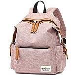 MMMMM Jungen Mädchen Rucksack Schultasche Mode Leinwand Casual Daypack Reisetasche,1