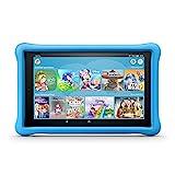 Fire HD 10 Kids Edition-Tablet, 25,65 cm (10,1 Zoll) 1080p Full HD-Display, 32 GB, blaue kindgerechte Hülle