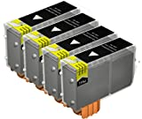 4x Kompatible Druckerpatronen - Ersatz für BCI-3EBK - Schwarz- Hohe Kapazität - Canon BJC-3000 BJC-6000 BJC-6100 BJC-6200 BJC-6500 BJI-6500 I550 I550X i560 I560X I6500 I850 i865 MPC400 MPC600F MP-F50 MP-F60 MP-F80 S400 S400X S450 S4500 S500 S520 S530d S600 S630 S6300 S750 Imageclass MP700 Photo MP730 MPC100 MultiPass C150 Pixma iP3000 iP4000R MP750 MP760 Smartbase MP780