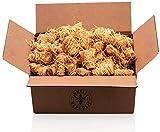 Ofenanzünder / Kaminanzünder hochwertig, lange Brenndauer I Aus ökologischer Holzwolle und Wachs I Anzünder geeignet für Kamin, Ofen und Grill I 1,5 kg