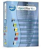 Open Office Premium 2018 Home Student Professional Edition - Inkl. gedrucktes Handbuch / 20.000 Office Vorlagen / 1.000 Schriften / Kompatibel mit Word, Excel, Powerpoint für Windows 10 8 7 Vista und XP
